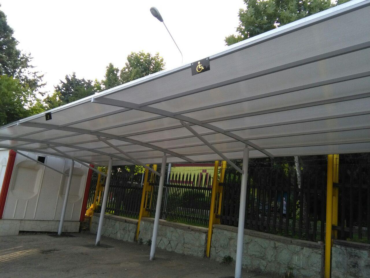 سقف پارکینگ